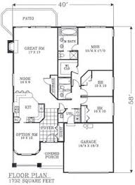 bungalow house plans with basement floor plan of bungalow craftsman narrow lot house plan 46106