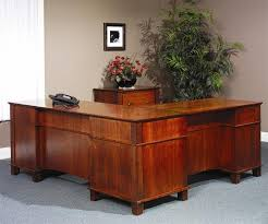L Desk Office Arlington Executive L Shaped Desk From Dutchcrafters