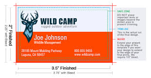 Text Your Business Card Standard Business Card Size Uprinting Com
