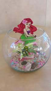Finding Nemo Centerpieces by Centro De Mesa Ariel Little Mermaid Party Fiesta Sirenita
