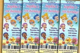 guppies birthday invitation guppies birthday