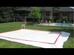 Backyard Ice Skating how to build a backyard rink by rinkmaster canada youtube