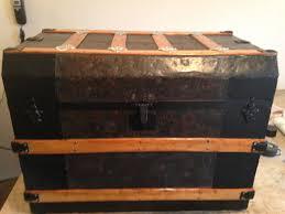 antique steamer trunk general info restoration values u0026