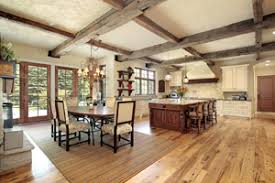 Engineered Hardwood In Kitchen Wood Floors In The Kitchen