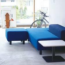 Clean Muji Living Couch Ottoman Acrylic Magazine Rack - Muji sofas
