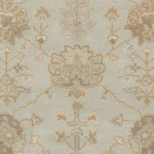 Overstock Oriental Rugs Overstock Hand Tufted Syston Floral Wool Rug 6 U0027 X 9 U0027