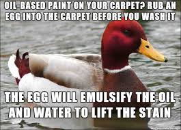 Carpet Cleaning Meme - i don t know enough about carpet cleaning to dispute this meme on