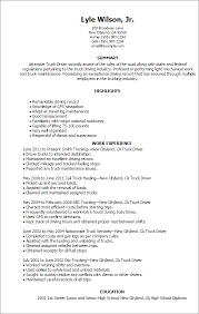 truck driver resume exles library answers i need to write a paper on the history of