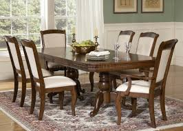 cherry finish double pedestal formal dining table w options
