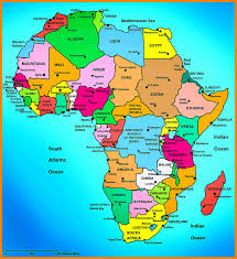 World Map Countries Countries In Africa Map