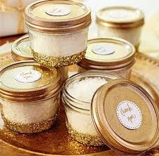 gold baby shower decorations gold baby shower favour jars gold baby showers and white glitter