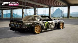 hoonigan truck microsoft and hoonigan team up for hoonigan car pack in forza