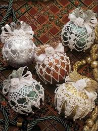 free beaded ornament covers crochet beaded ornament