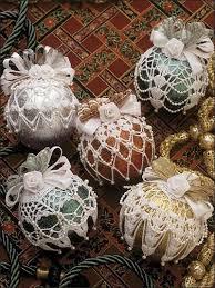 free beaded ornament covers crochet beaded ornament