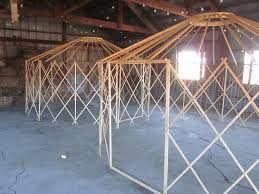 Living In A Yurt by Maybe I Can Make This 16 Camping Yurt Frame Kit Diy By Clean Air