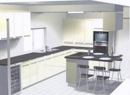 cuisine en u avec table modele de cuisine en u cuisine design lapeyre modele de