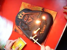 russell davies soft play vader cake birthday