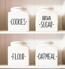 kitchen canisters kitchen canister decals kitchen canister labels