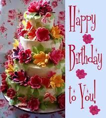 birthday flower cake happy birthday flowers søk pinteres