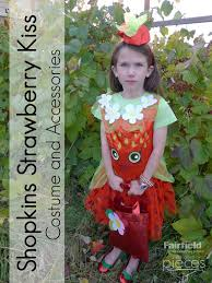 Oriental Halloween Costumes Pieces Polly Strawberry Kiss Shopkins Costume Trick