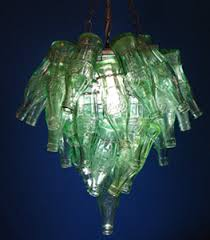 Chandelier Made From Plastic Bottles Let There Be Light Upcycled Chandeliers Give Coke Bottles New