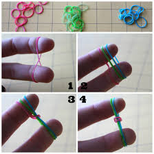 bracelet made with rubber bands images Rubber band bracelets without the loom a girl and a glue gun jpg