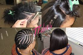 hair braid for a closure lace closure with a deep side part bob cut by ttdoesitall youtube