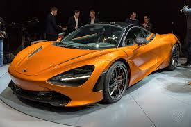 orange mclaren rear mclaren u0027s top priorities with the new 720s aerodynamics