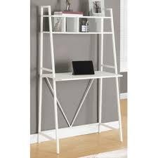 bureau echelle bureaux inclinés à échelle forme bureau rectangulaire wayfair ca