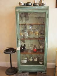 Bathroom Apothecary Jar Ideas Turn Of The Century Cabinet And Apothecary Jars Paper Street Market