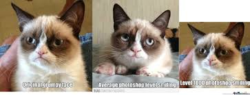 Smiling Cat Meme - grumpy cat photoshop smiling by 4mirulsgusta meme center