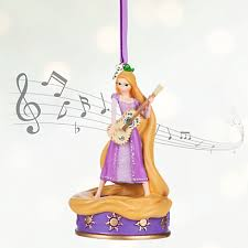 tangled rapunzel singing ornament