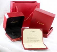 genuine cartier jewelry packaging wholesale including boxes