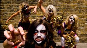 Zombie Cheerleader Lollipop Chainsaw Deploys Writhing Zombie Cheerleader Squad To England