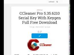 ccleaner serial key ccleaner pro 5 35 6210 serial key free download pinterest