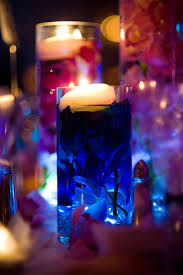 Wedding Centerpieces Floating Candles And Flowers by Glass Cylinder Wedding Centerpieces With Submerged Flowers