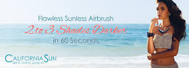 california sun top rated airbrush sunless spray tanning