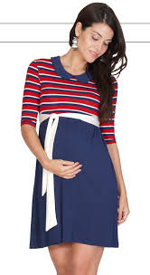 maternity clothes australia nautical stripe maternity dress
