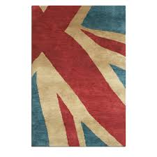 Purple Union Jack Rug Union Jack Hand Knotted Wool Rugs Free Uk Delivery The Rug Seller