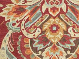 Floral Pattern Rugs Rugada Com Jaipur Brio Hand Tufted Floral Pattern Polyester Red