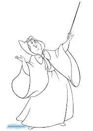 fairy god mother coloring pages fairy god mother coloring pages