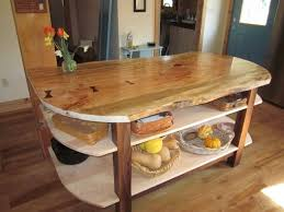 maple kitchen island made wide live edge maple kitchen island with walnut base by