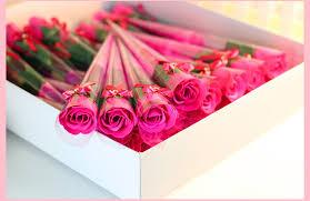 wedding flowers gift aliexpress buy single flower soaps as wedding gift soap