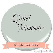 favorite paint color benjamin moore quiet moments quiet