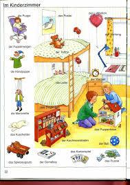vocabulaire de la chambre la chambre des enfants allemand 02 vocabulaire