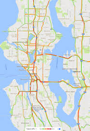 Greater Seattle Area Map by Seattle Traffic Map Seattle Area Traffic Map Seattle Traffic