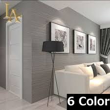 online get cheap wallpaper bedroom grey aliexpress com alibaba nonwoven wall covering simple textured striped wallpaper modern home decor bedroom living room sofa beige grey