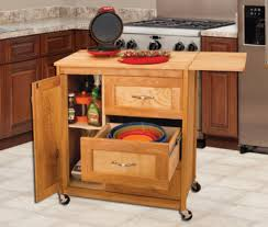 catskill kitchen islands catskill craftsmen drawer cart with side drop leaf model 1522