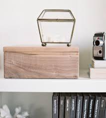handmade wood medium wood photo box home decor lighting make stow