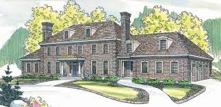 large house plans stately colonial house plans house plan
